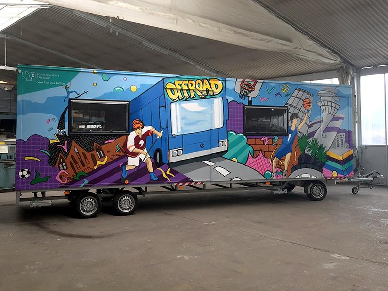 Graffiti-Künstler Düsseldorf