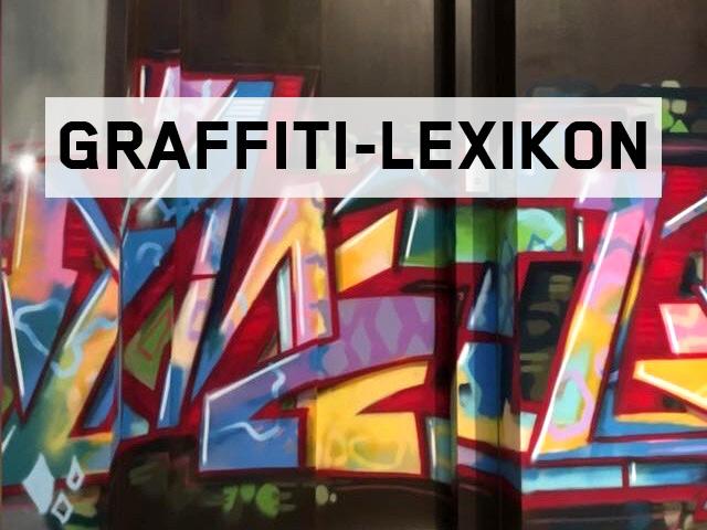 Graffiti-Lexikon Beitragsbild.