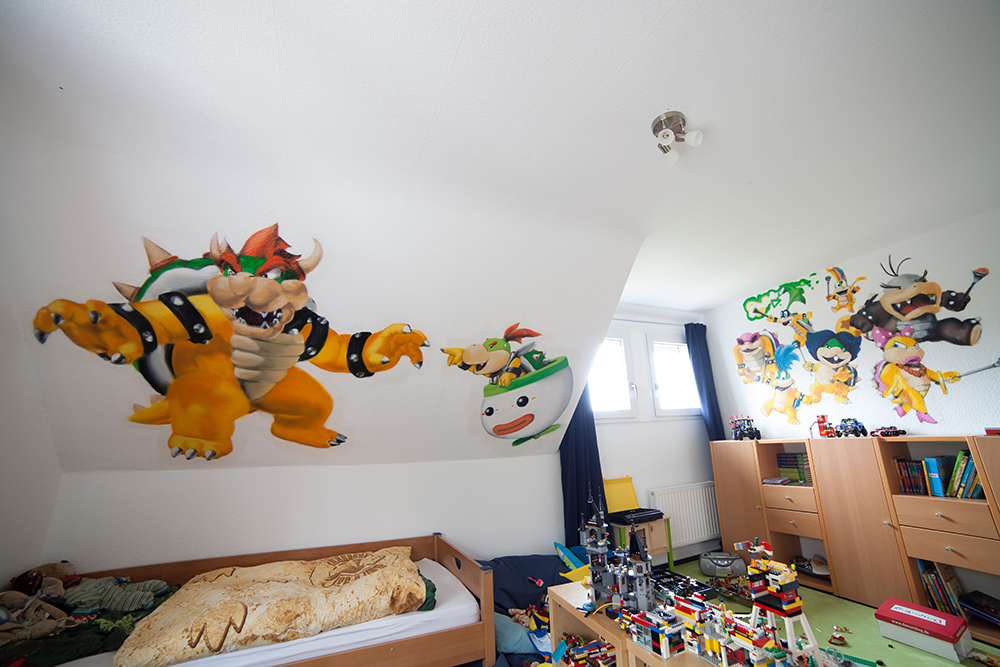 Bowser Schergen Kinderzimmerdesign