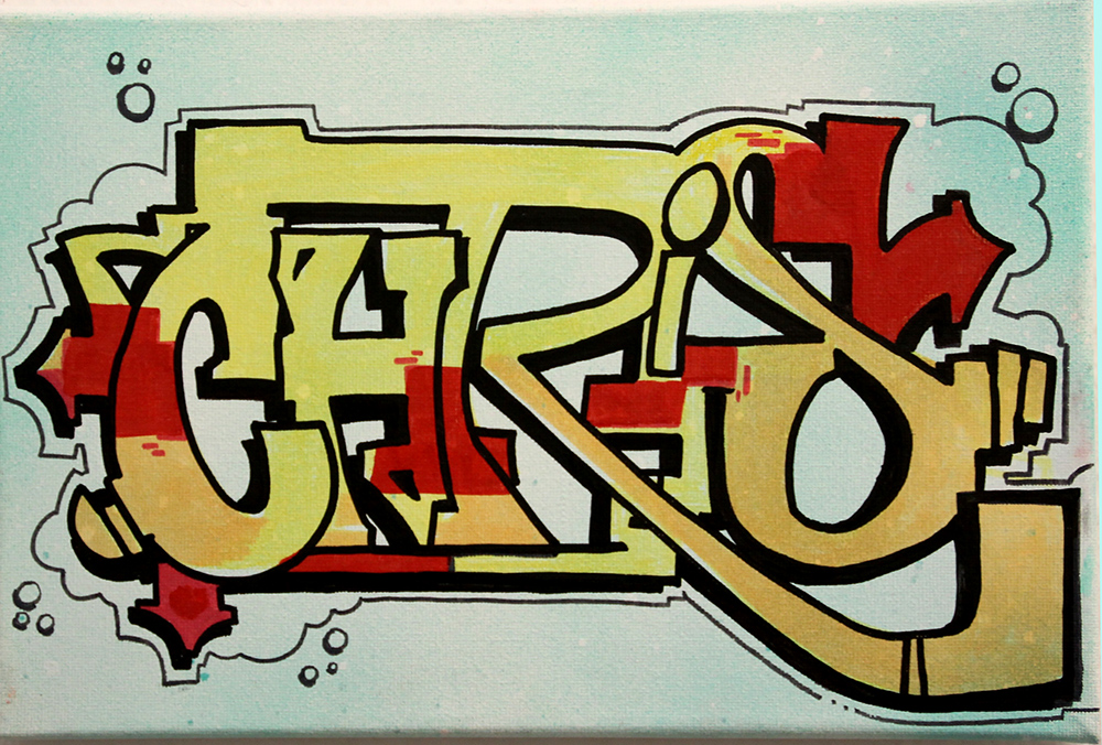 Chris Farbkombo Graffiti Art Köln