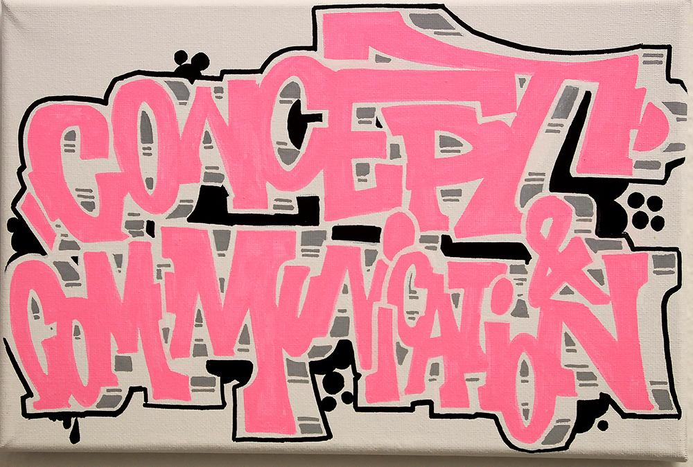 Concept und Communication Graffiti