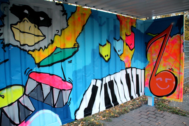 GRAFFITIWORKSHOP DÜSSELDORF