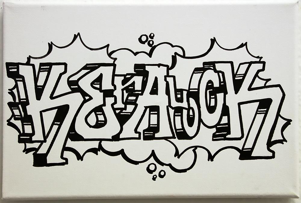 Live Graffiti Köln: Farbkombo designt Leinwand für KERALOCK